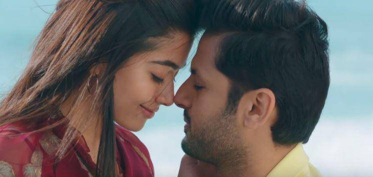 Hey Choosa video song Bheeshma Rashmika Mandanna Nithiin