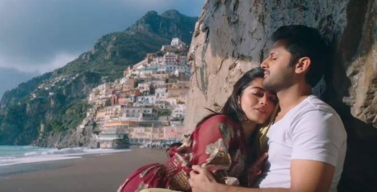 Hey Choosa video song Bheeshma Rashmika Mandanna Nithiin
