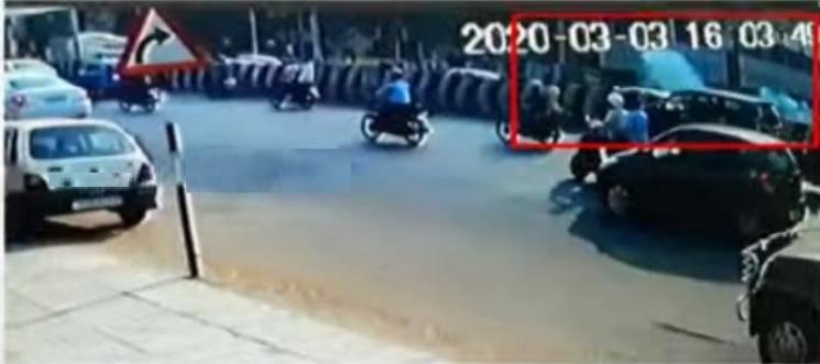Chennai bomb blast commissioner of police visits