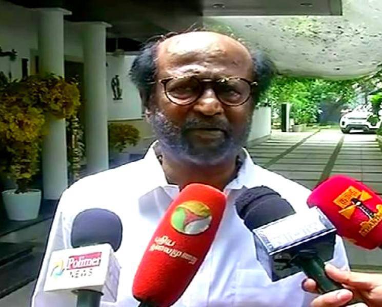 Court inquires Police Rajinikanth Thuglak speech