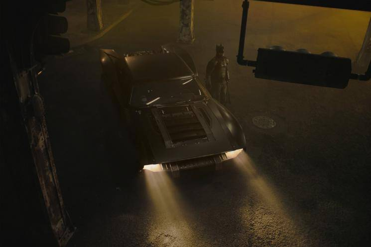 Robert Pattinson The Batman new official Batmobile images Matt Reeves