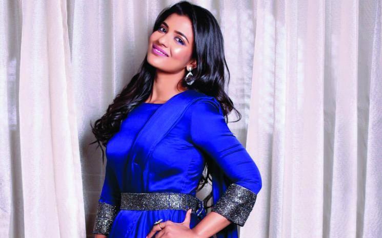 Aishwarya Rajesh dosa cooking viral video at shooting spot