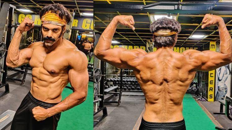 Arya Salpetta fitness transformation photo goes viral Pa Ranjith Santhosh Narayanan