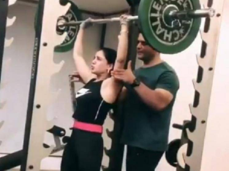 Samantha lifts 100 Kgs deadweight video goes viral