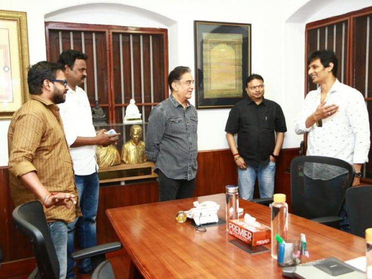 Kamal Haasan praises Jiiva Gypsy team for humanitarianism message