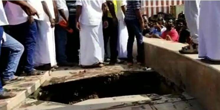 TN minister Sellur Raju tiles accident