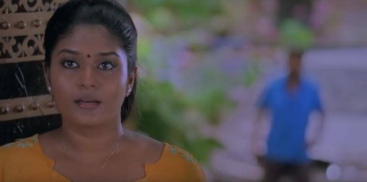 Kaavalan actress Neepa shooting spot accident video goes viral