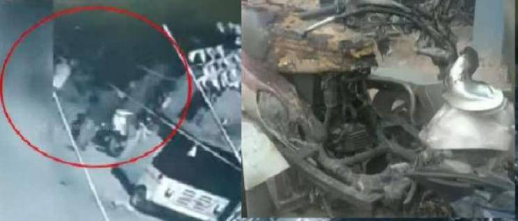 Man burns vehicle of girl refusing to love him