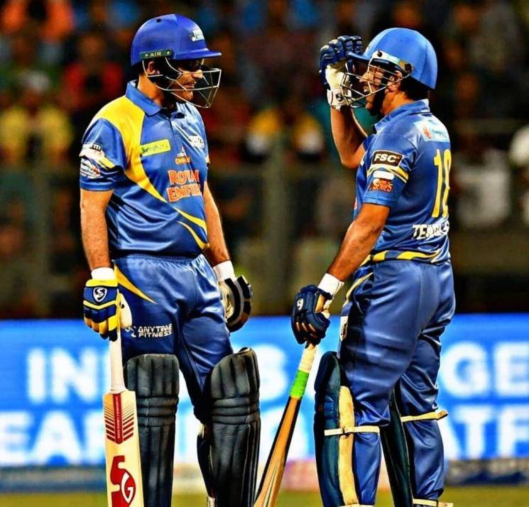 Indian Legends team win Sachin Sehwag