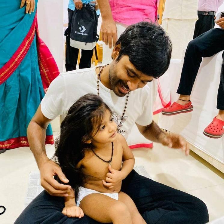 Dhanush family ceremony photos go viral Pudhupettai 2 Selvaraghavan