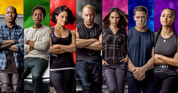 Vin Diesel F9 release postponed April 2021 fast and furious 9 coronavirus
