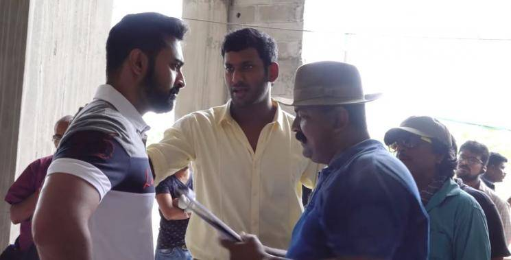 Vels Film International Ishari Ganesh invites Mysskin to direct new film Thupparivaalan 2 Vishal