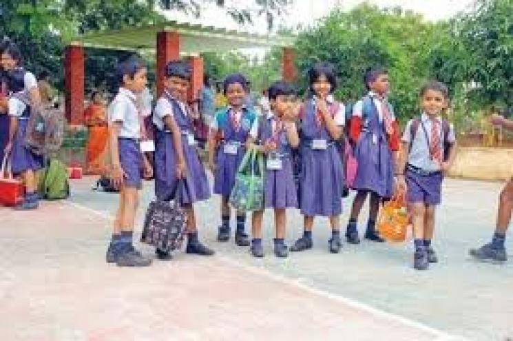 TN govt LKG UKG schools leave coronavirus