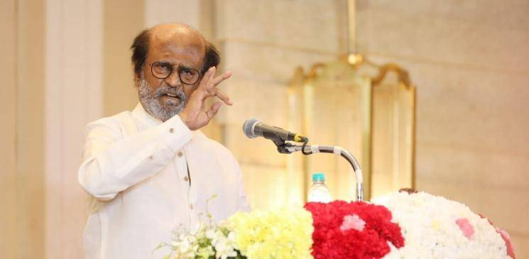 Rajinikanth thanks media and fans for latest political decision Rajini Makkal Mandram