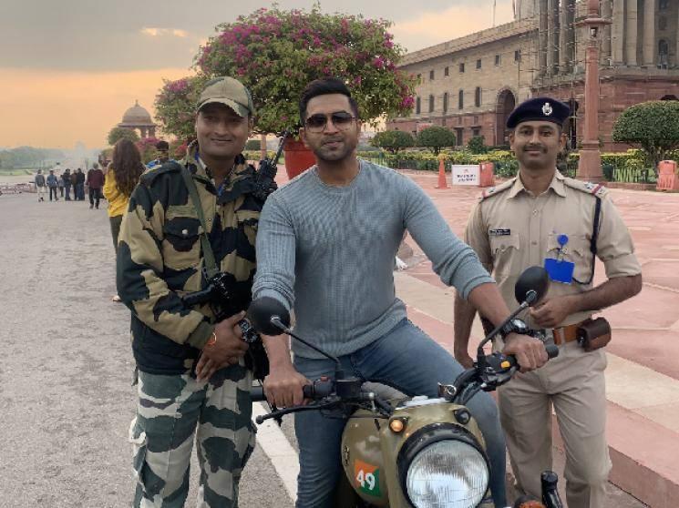 Arun Vijay Arivazhagan AV31 team wraps up Delhi Agra schedule