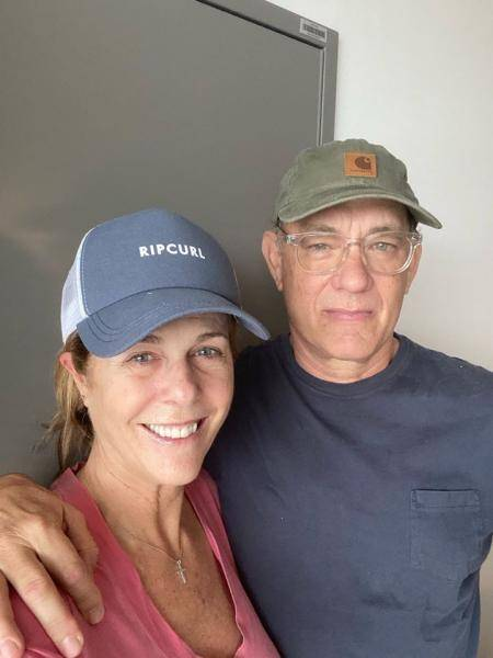 List of actors and actresses diagnosed with coronavirus Tom Hanks Rita Wilson