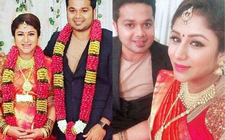 Raja Rani stars Alya Manasa and Sanjeev blessed with a baby girl