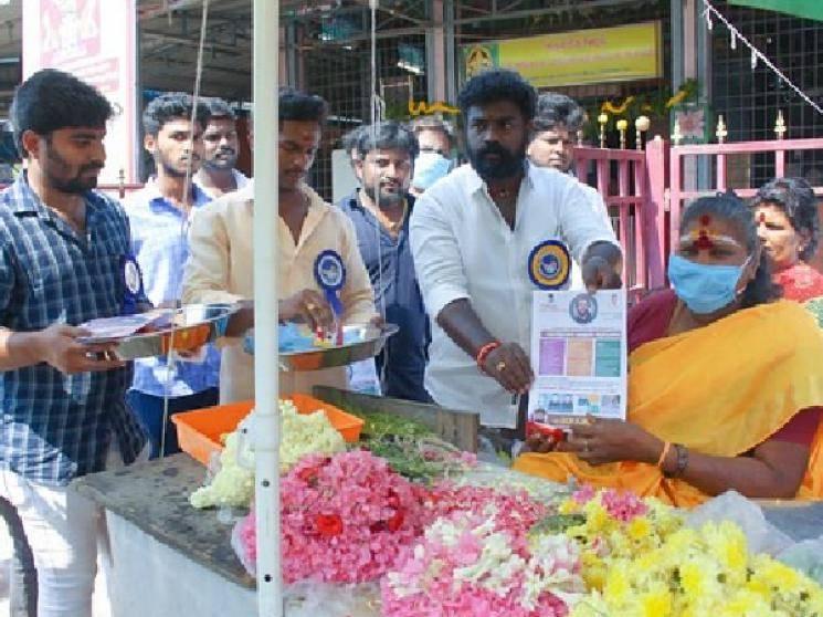 Thalapathy Vijay fans help public fight Corona Virus