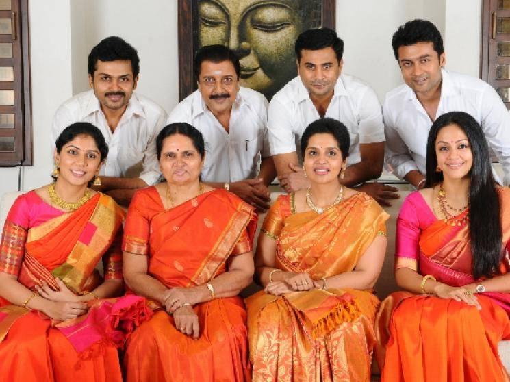 Sivakumar Suriya Karthi donate 10 lakhs for FEFSI employees