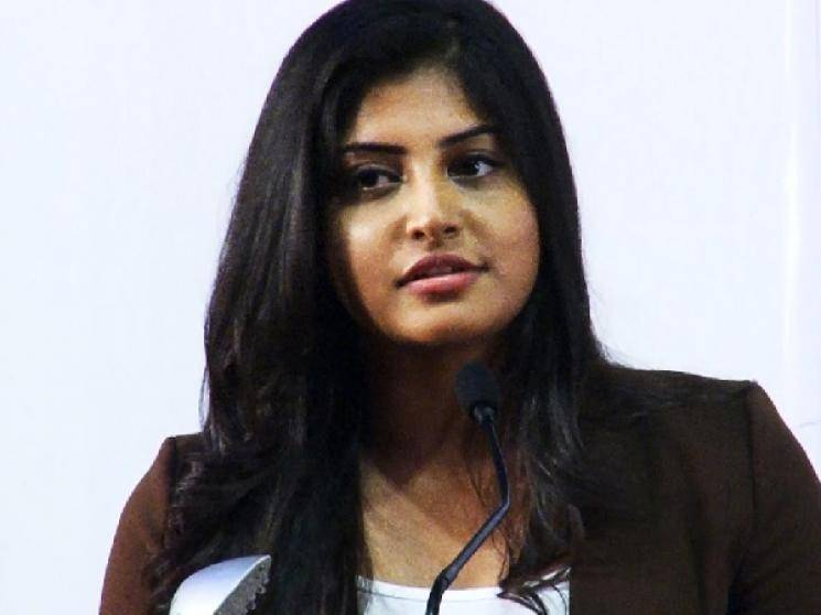 Manjima Mohan gives strong reply to Twitter troll