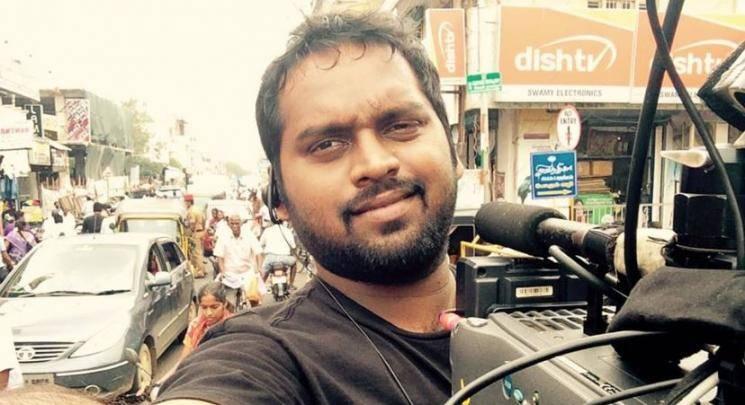 Kaththi cinematographer George C Williams emotional about career