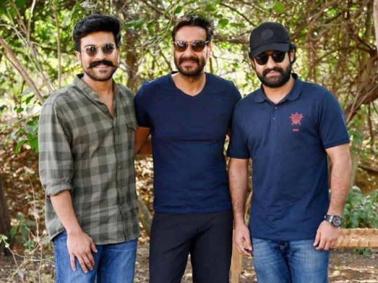 RRR team surprise video for Ram Charan birthday from Jr NTR