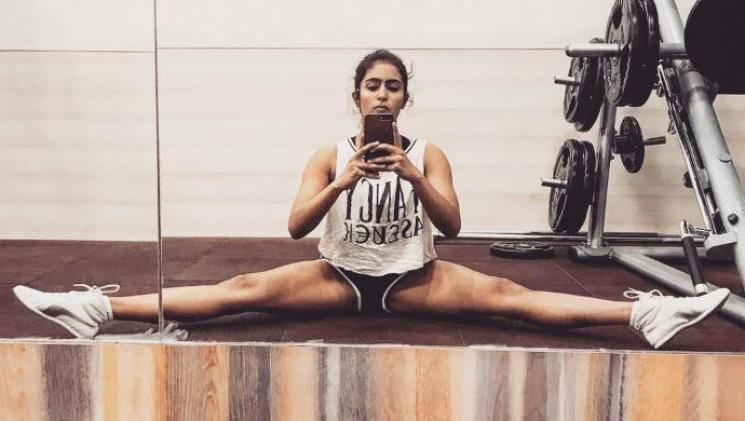 Comali heroine Samyuktha Hegde lockdown dance video goes viral