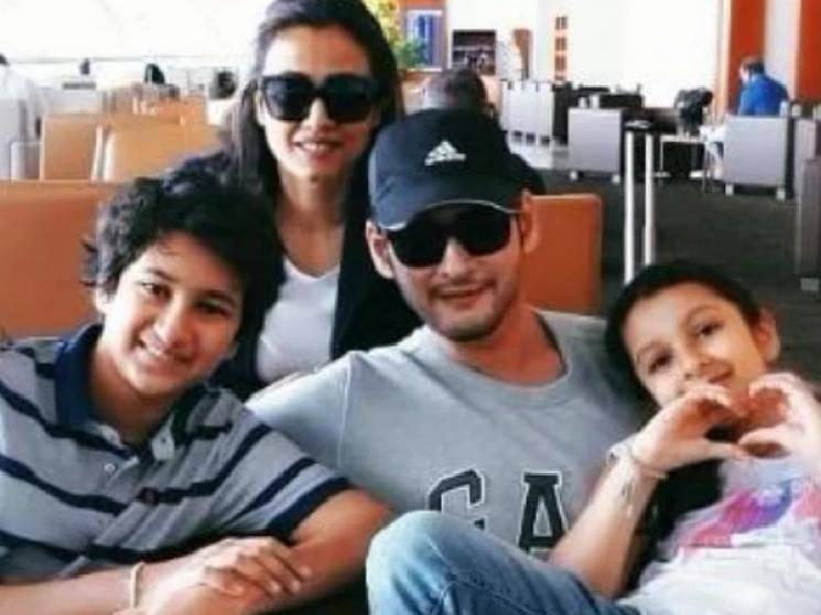 Mahesh Babu daughter Sitara tips Corona Virus Awareness video