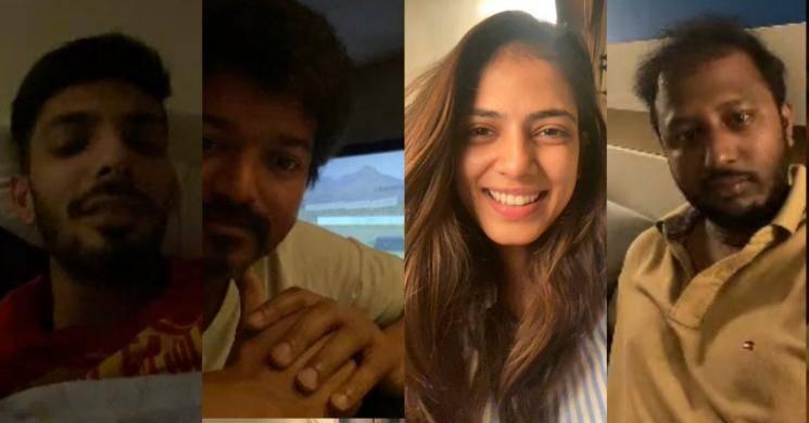 Master heroine Malavika Mohan sharp response to fan goes viral Thalapathy Vijay