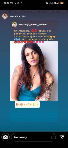 Bigg Boss 3 Meera Mitun shares vulgar fan reactions to her latest photoshoot