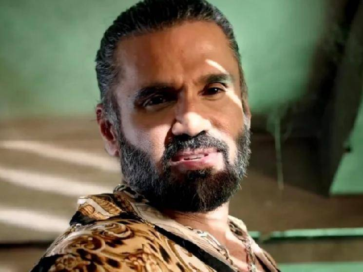 Darbar villain Suniel Shetty composed reply to online troll