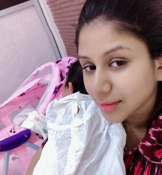 Alya Manasa Sanjeev announce baby name as Aila Syed