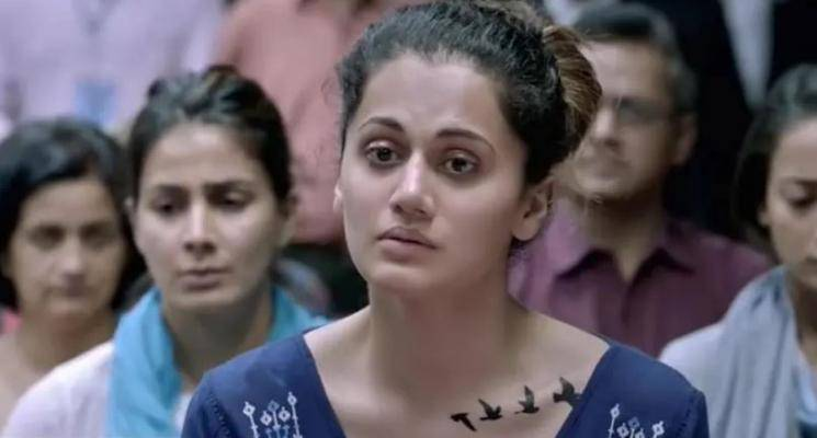Taapsee Pannu reveals the meaning of her Pink movie tattoo