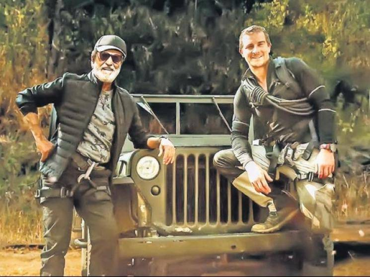 Superstar Rajinikanth Into the Wild Bear Grylls tops TV ratings