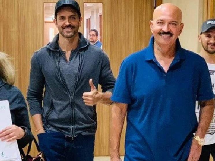 Hrithik Roshan shares father Rakesh workout video says Corona should be afraid