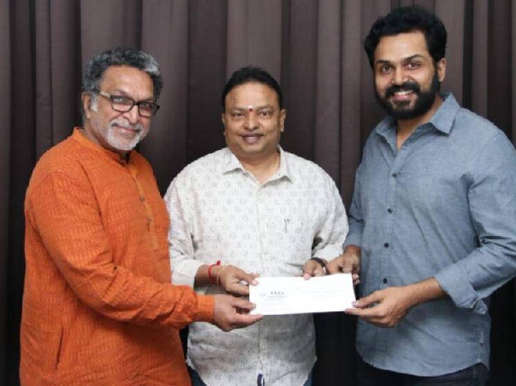 Nadigar Sangam releases contributors detail list for Corona Virus relief fund