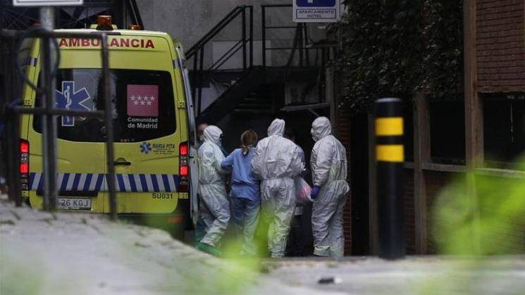 Coronavirus update Spain death toll rises first time in five days