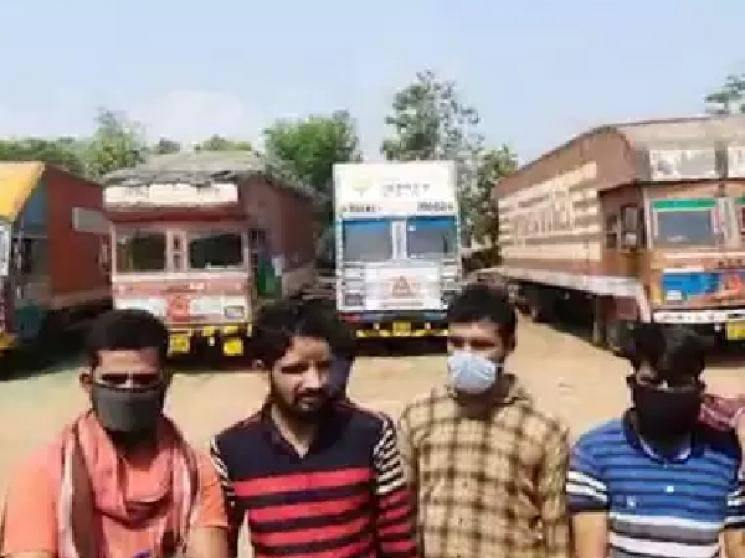 3.5 Lakh lorries stranded on roads with Rs. 35000 Crores goods