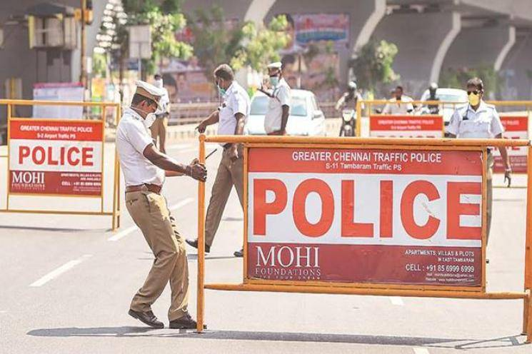 Tamil Nadu police statement on coronavirus lockdown violators