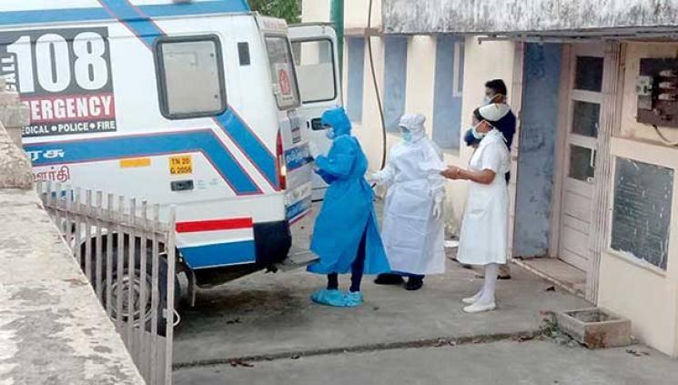 Tamil Nadu coronavirus patient writes 4 exams in hospital ward