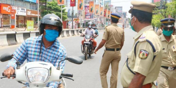 Coronavirus TN police return vehicles seized lockdown period