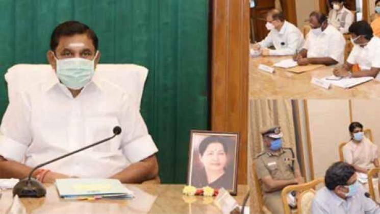 Coronavirus update Tamil Nadu 25 positive cases state total 1267 Edappadi Palaniswami