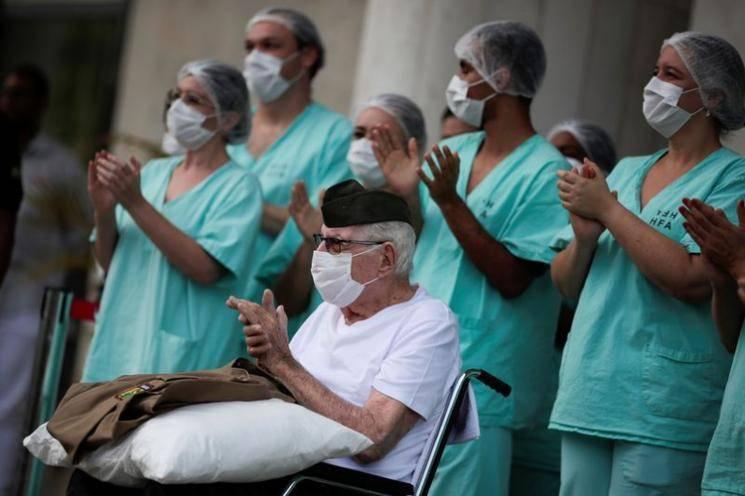 99 year old World War II veteran survives coronavirus in Brazil