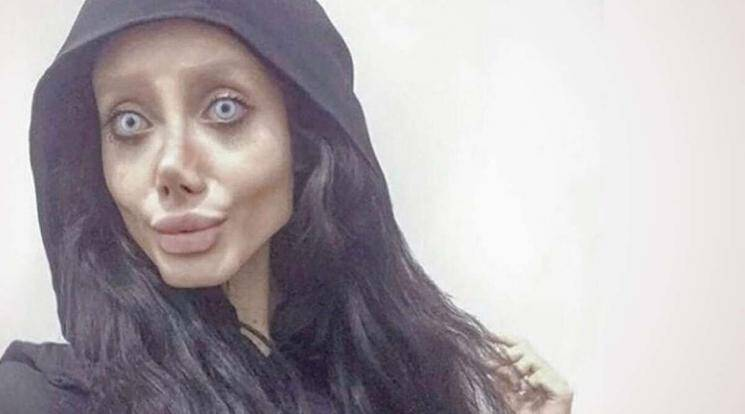 Angelina Jolie wannabe Iranian Instagram star coronavirus