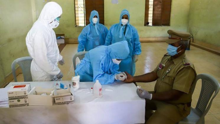 Coronavirus Chennai Locals attack ambulance staff body burial