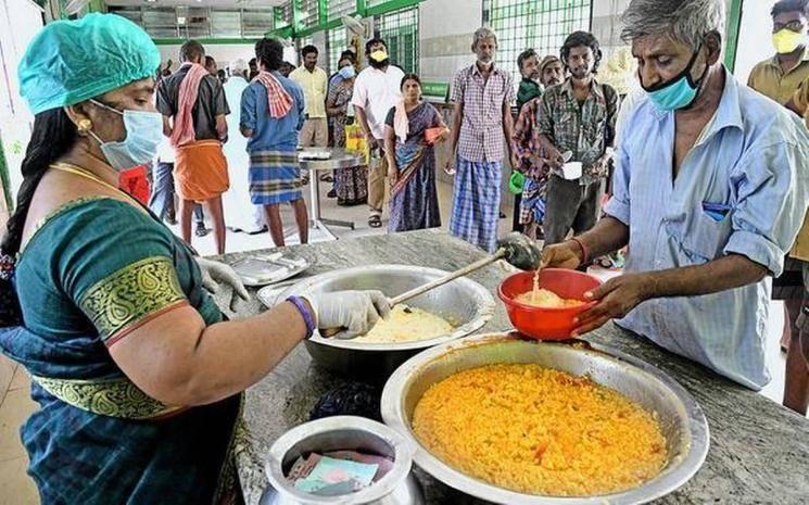 Coronavirus lockdown Chennai Amma canteens free food till May 3 lockdown