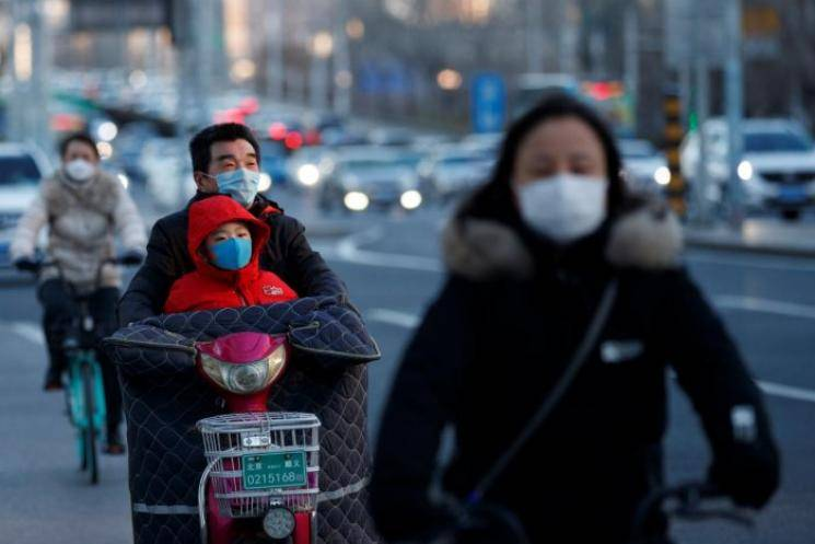 China coronavirus cases single digit for first time since January
