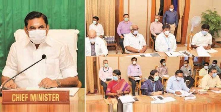 Corona spread.. TN CM Meeting with 40 IAS officers