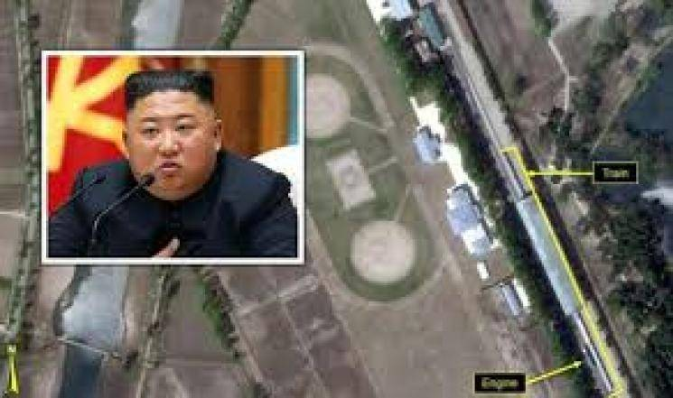 Satellite images ready for North Korea President
