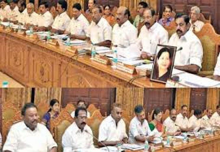 TN Cabinet meeting on May 2